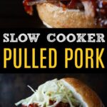 pulled pork bbq slow cooker homemade bbq sauce