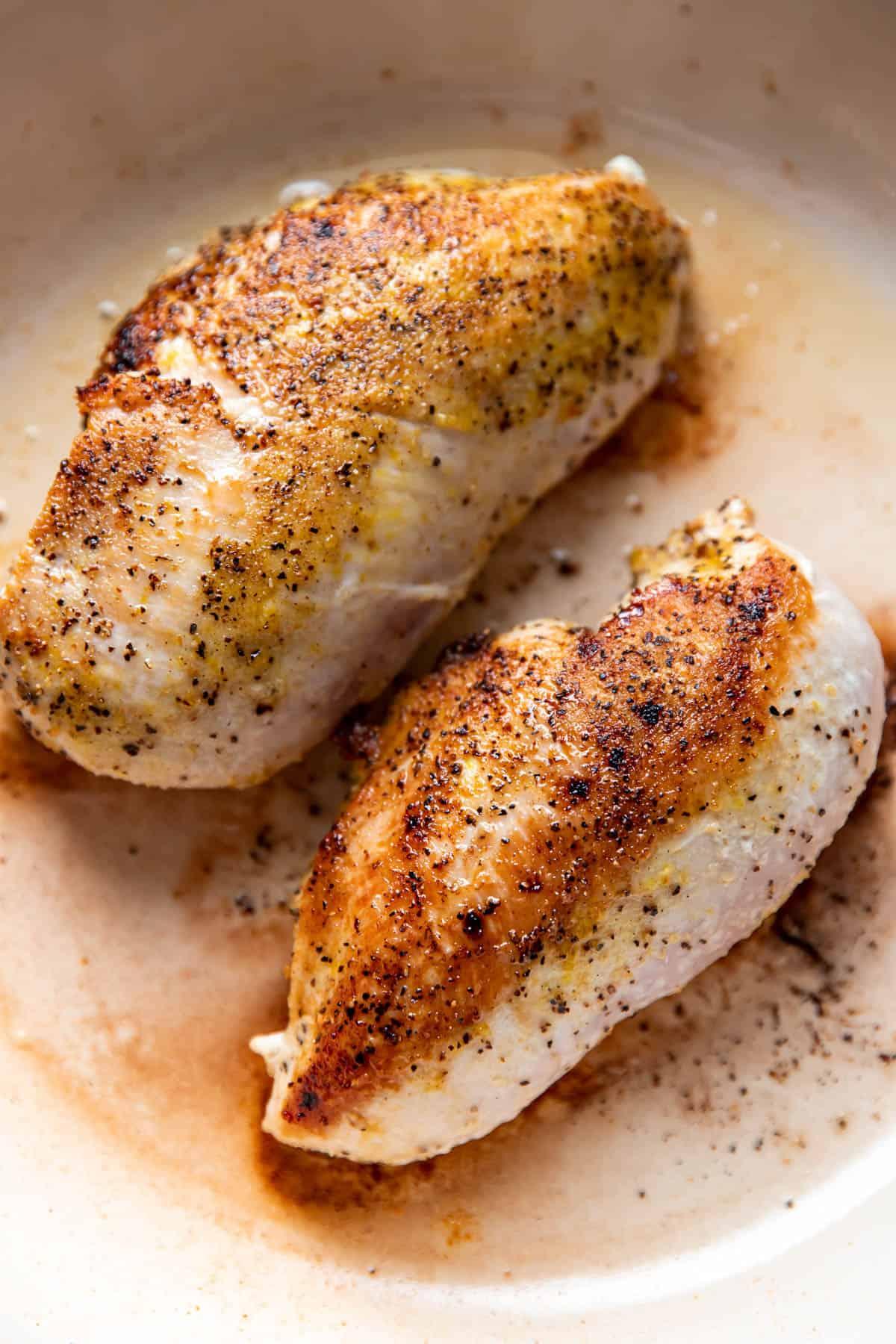 lemon pepper seasoned chicken.