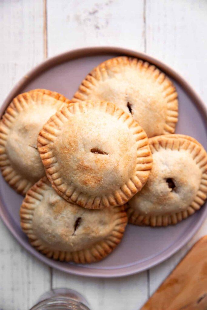 individual apple chai hand pies