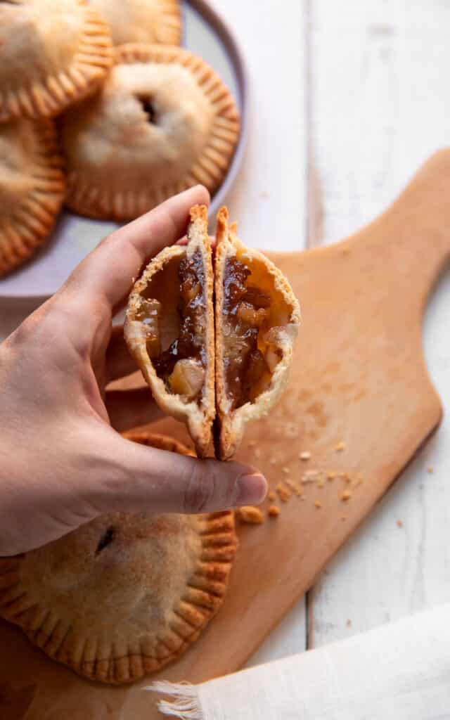 individual apple chai hand pies