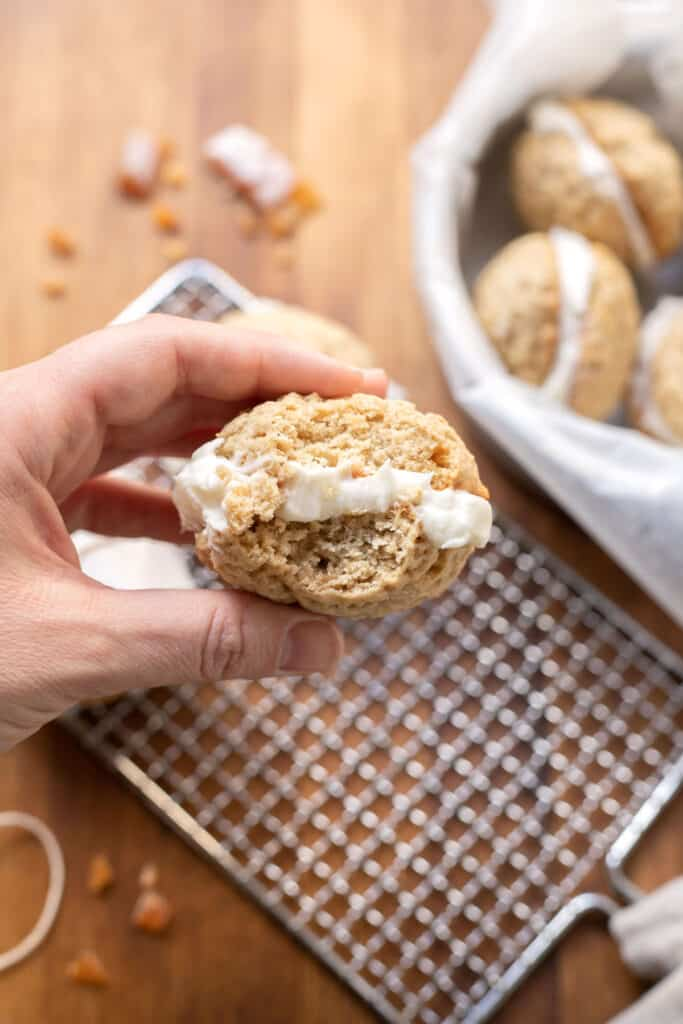easy whoopie pie recipe with cinnamon and ginger