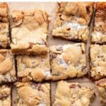 rocky road bars cut into squares