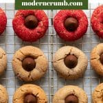 christmas peanut butter blossoms