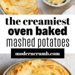 baked mashed potatoes with text overlay
