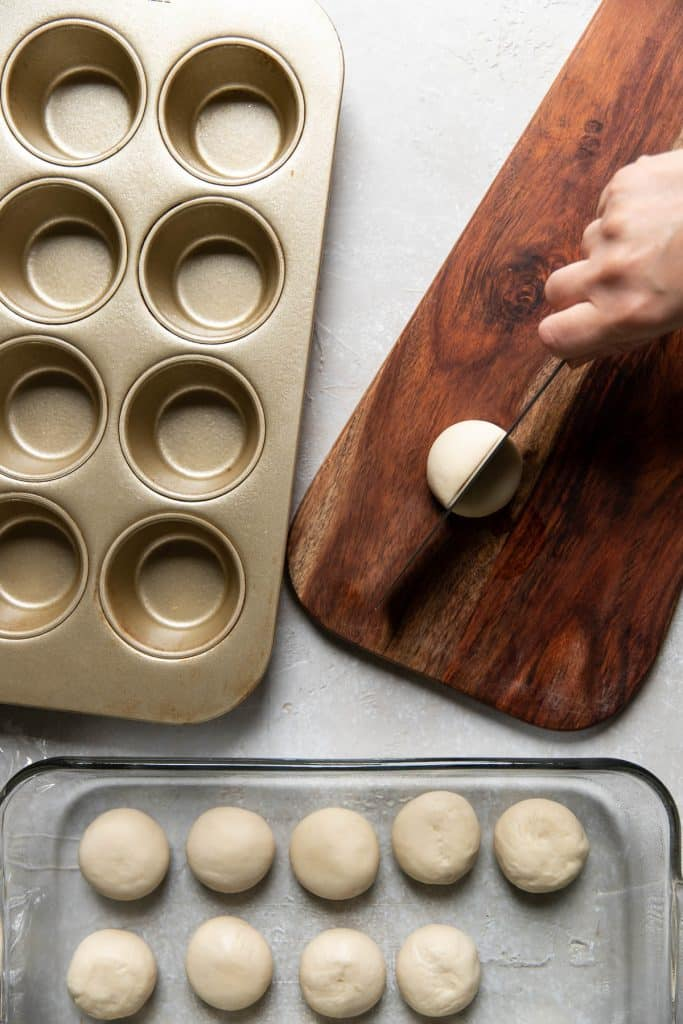 cutting rolls