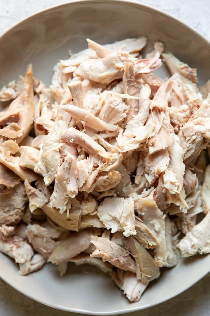 shredded turkey