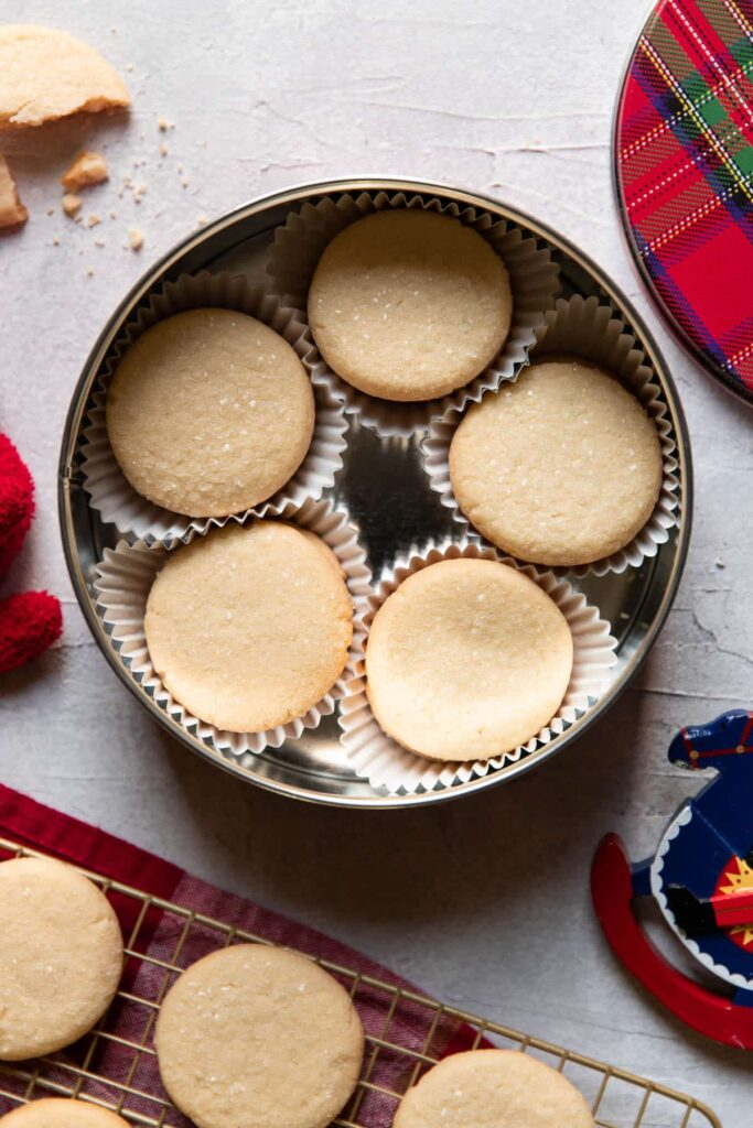 tin can butter cookies