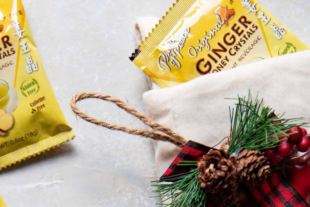 ginger tea packet