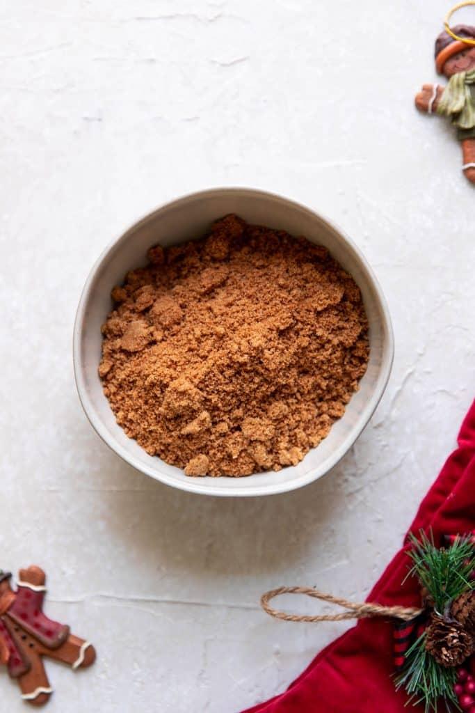 brown sugar and cinnamon in a bowl