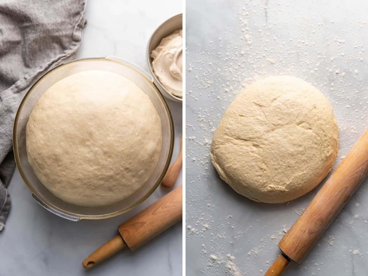 sweet cream cheese bun dough.