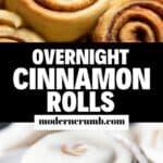 overnight cinnamon rolls.